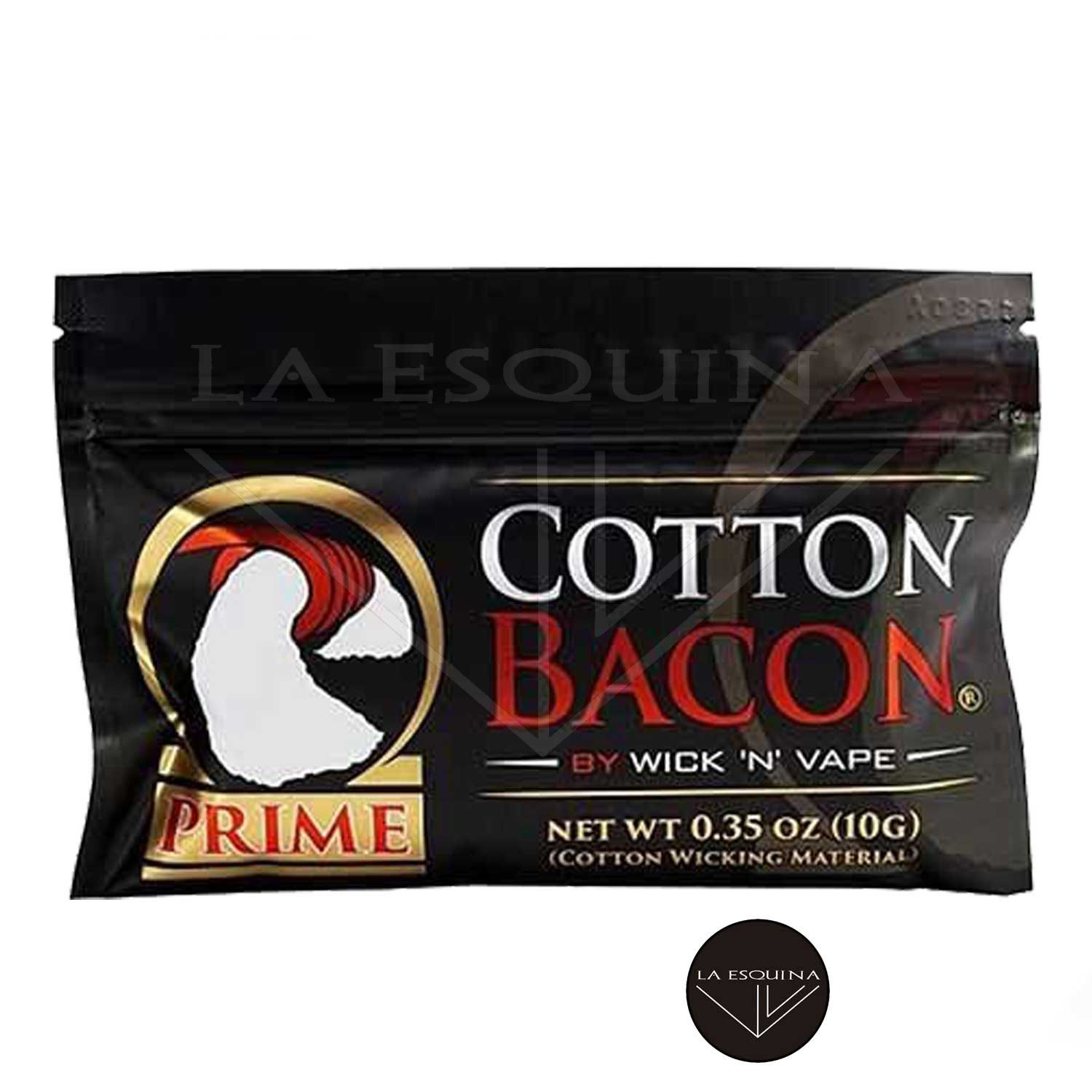 Algodón Cotton Bacon Prime WICK 'N' VAPE