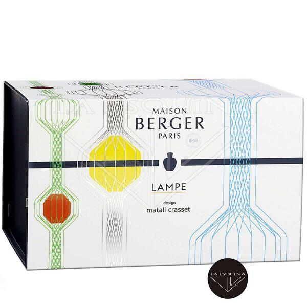 Lampe Berger Cofre Matali Crasset Azul,creada por el diseñador Matali Craset
