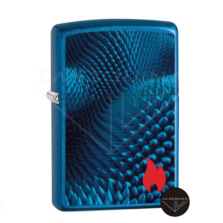 Zippo Blue Texture Design