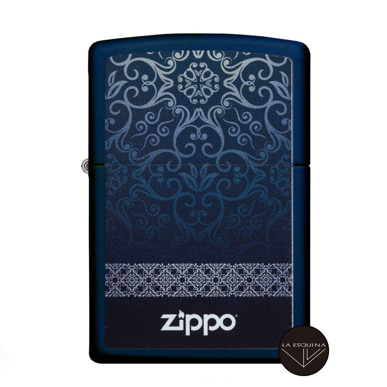 Zippo Damask Design