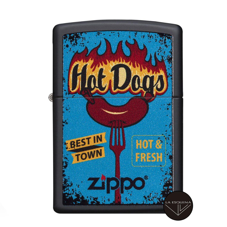 Zippo Hot Dogs Design