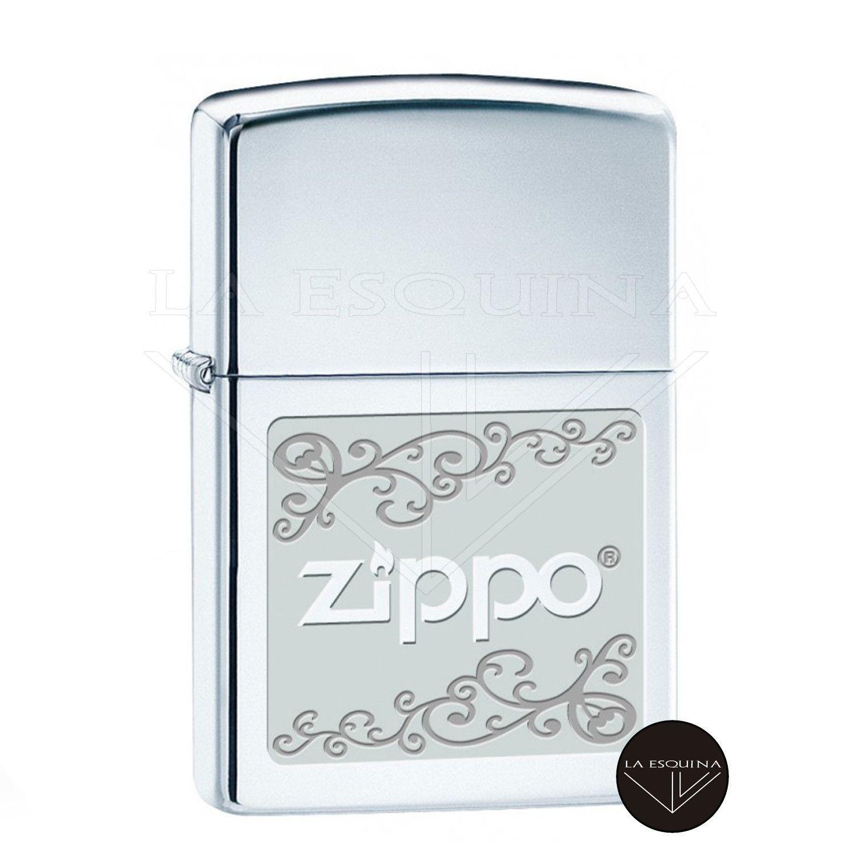 Zippo Logo Floral