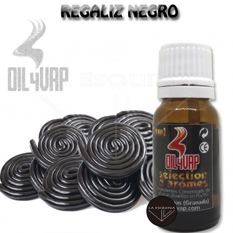Aroma OIL4VAP Regaliz Negro 10ml