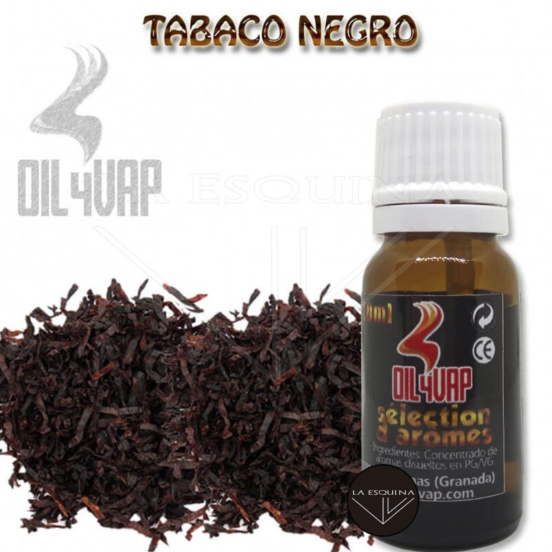 Aroma OIL4VAP Tabaco Negro 10ml