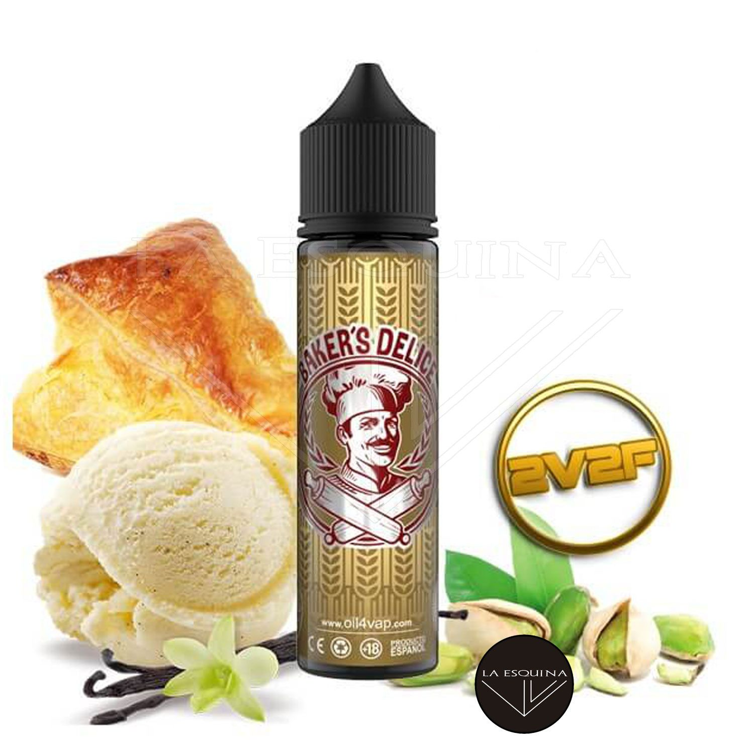OIL4VAP 2V2F Baker's Delice 50ml