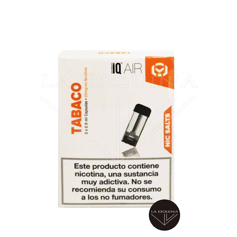VAPE IQ Capsulas Tabaco