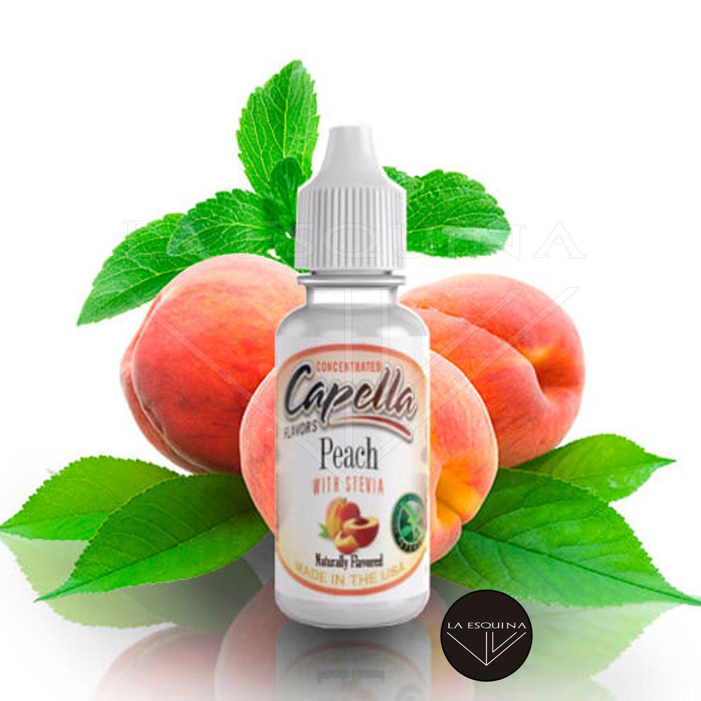 Aroma CAPELLA Peach with Stevia 13ml