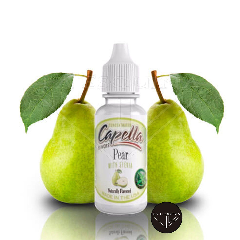 Aroma CAPELLA Pear with Stevia 13ml