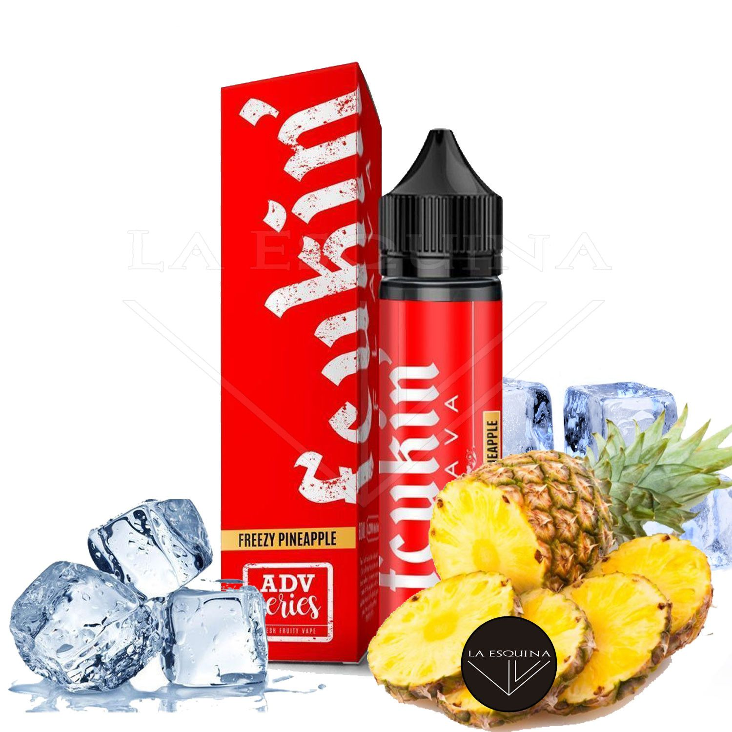 FCUKIN' FLAVA Freezy Pineapple Low Menthol 50ml