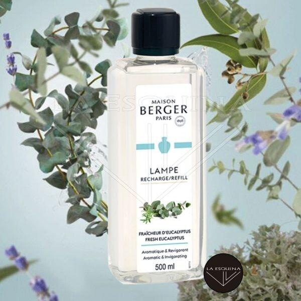 Recambio Lampe Berger Fraicheur Eucalytus 500ml aroma eucalipto y menta