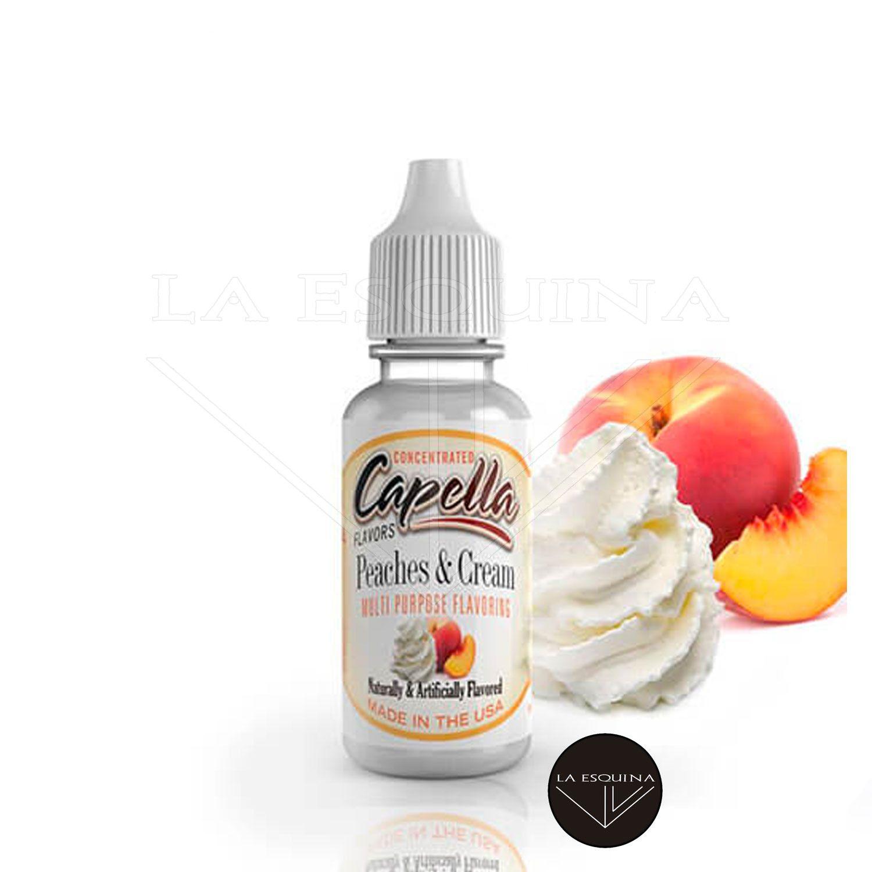 Aroma CAPELLA Peaches & Cream v2 13ml