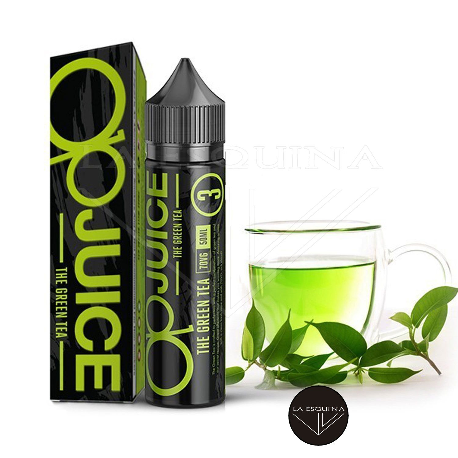 FCUKIN' FLAVA OP JUICE The Green Tea 50ml