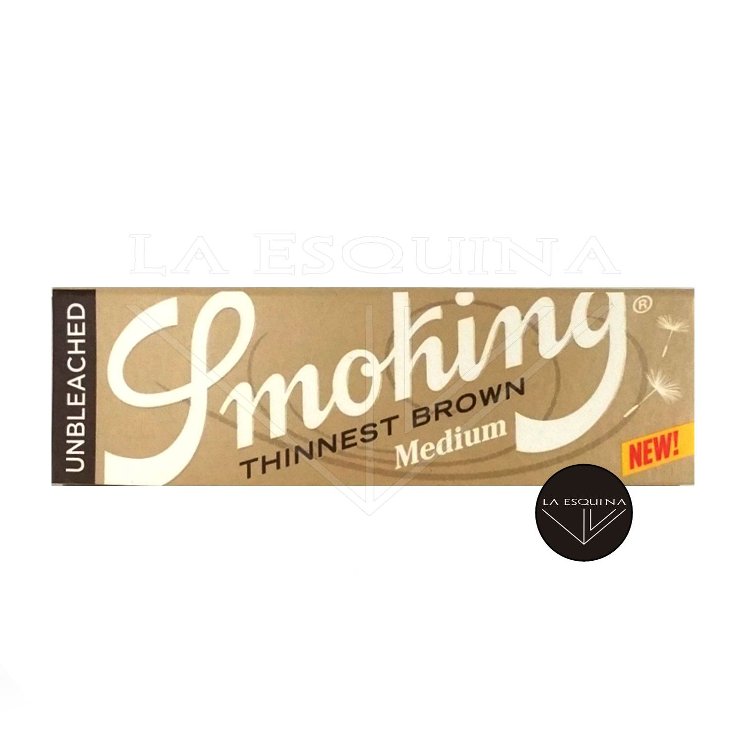 Papel SMOKING Thinnest Brown 78 mm