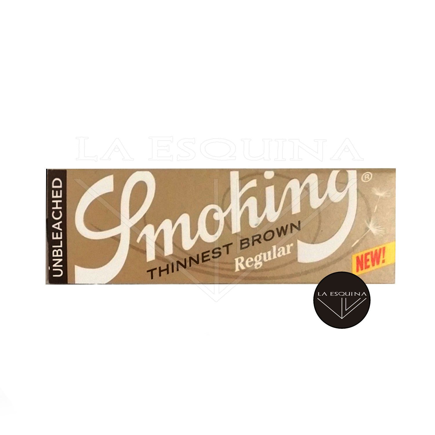 Papel SMOKING Thinnest Brown Corto 70 mm