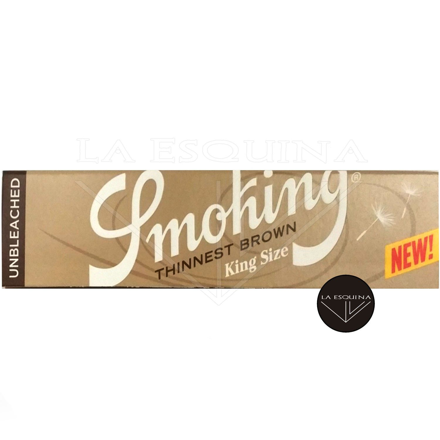 Papel SMOKING Thinnest Brown King Size 110 mm