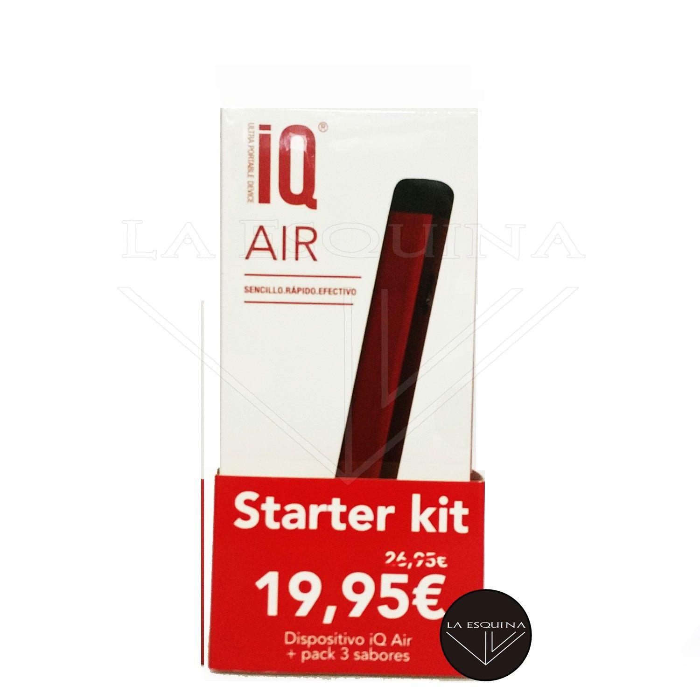 VAPE IQ Vape Smart Pod Level (Rojo) + Pack 3 Sabores