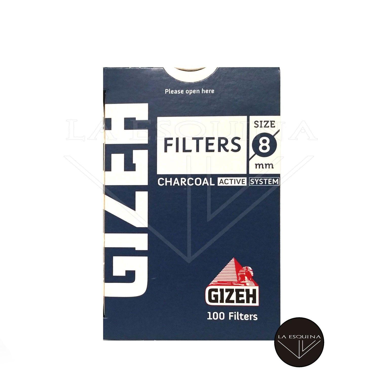 Filtros GIZEH Carbon 8 mm