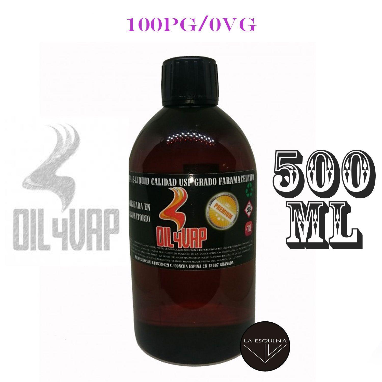 Base OIL4VAP 100PG/0VG (PROPILENGLICOL) 500ml