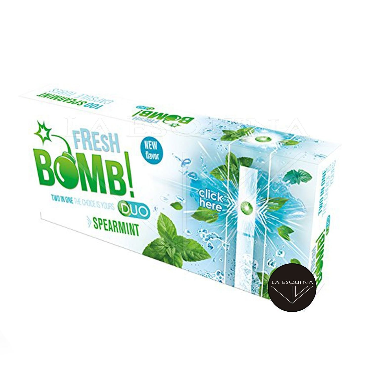 Tubos FRESH BOMB! Click Spearmint 100
