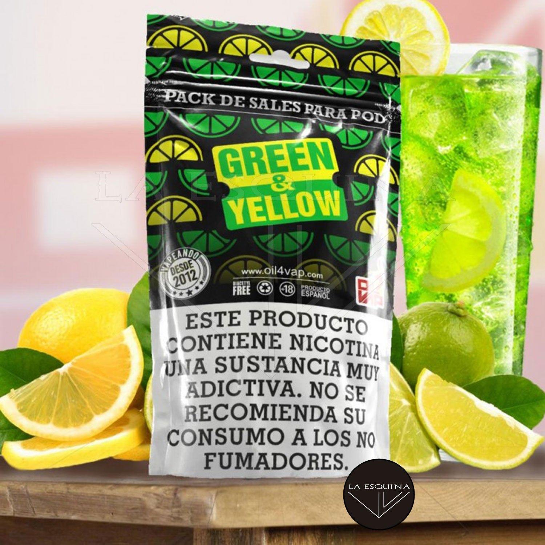 Pack de Sales OIL4VAP Green & Yellow 30ml