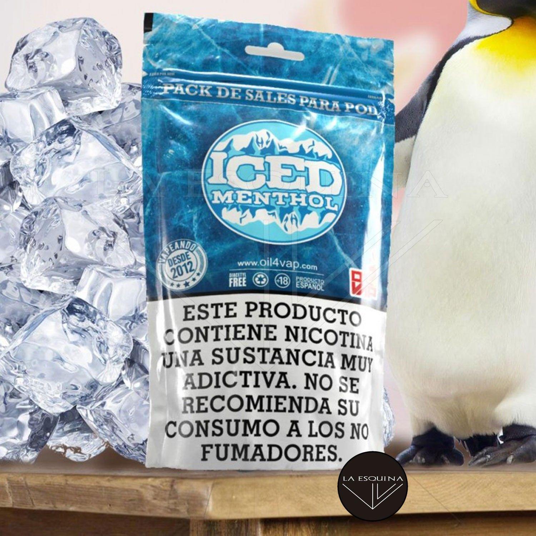 Pack de Sales OIL4VAP Iced Menthol 30ml