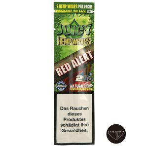 Blunt JUICY HEMP WRAPS Red Alert sabor fresa