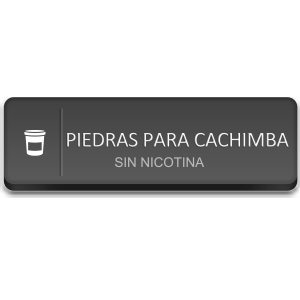 Piedras (Sustituto Tabaco Cachimba)