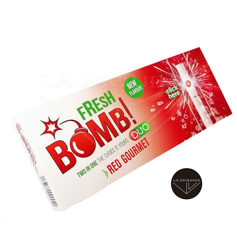 Tubos FRESH BOMB! Click Red Gourmet (Strawberry)