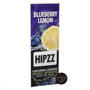 Tarjeta de sabor a arándano y limón Hipzz. Aromatiza tu paquete de tabaco.