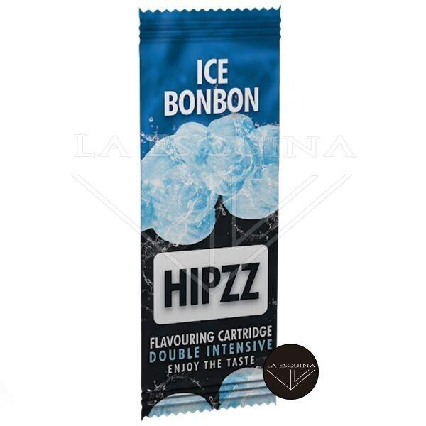 Tarjeta saborizante de tabaco Hipzz. Aromatiza tu paquete con sabor a mentol fresco.