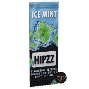 Tarjeta saborizante de tabaco Hipzz. Aromatiza tu paquete con sabor a doble menta.