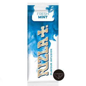 Tarjeta Rizla Fresh Mint. Tarjeta de sabor a Menta fresta para tu paquete de tabaco.