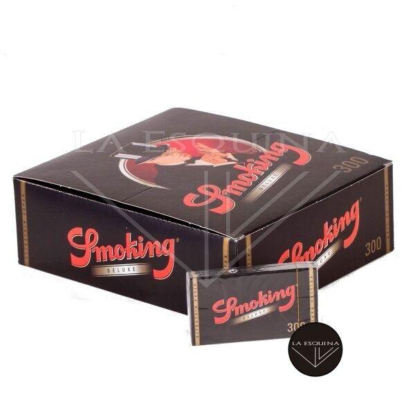 Caja de 40 Blocs Smoking 300. Papel de liar de 78 mm en Bloc. 12000 hojas de papel de fumar