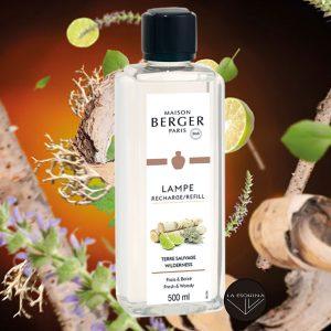 perfume parfum lampe berger paris terre sauvage