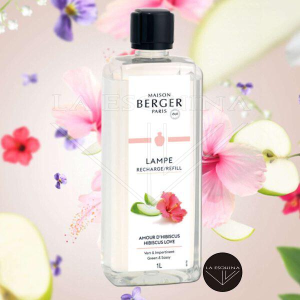 Parfum de Amour D'Hibiscus 1 LITRO,aroma manzana