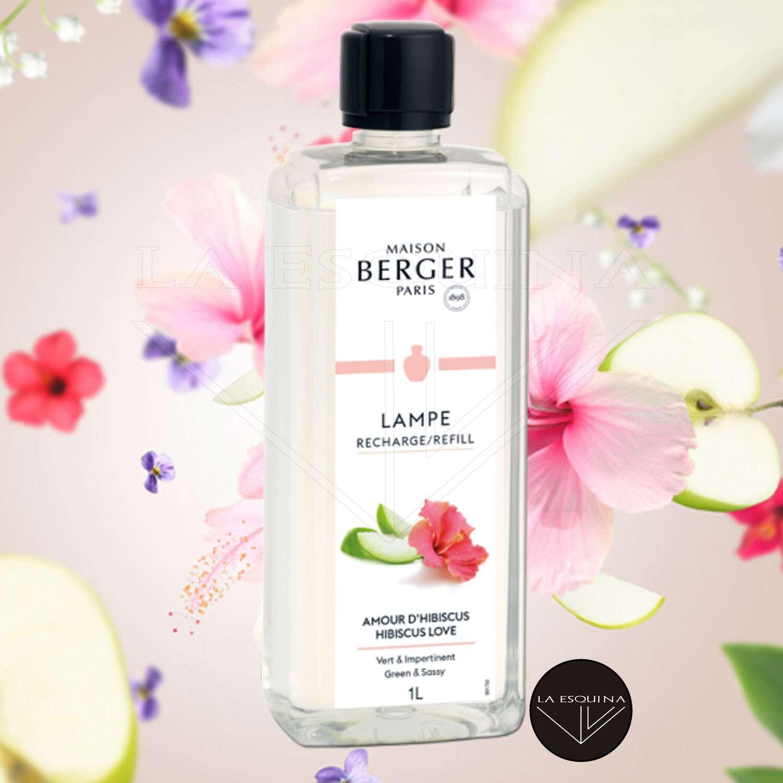 Parfum de Maison LAMPE BERGER Amour D'Hibiscus 1L