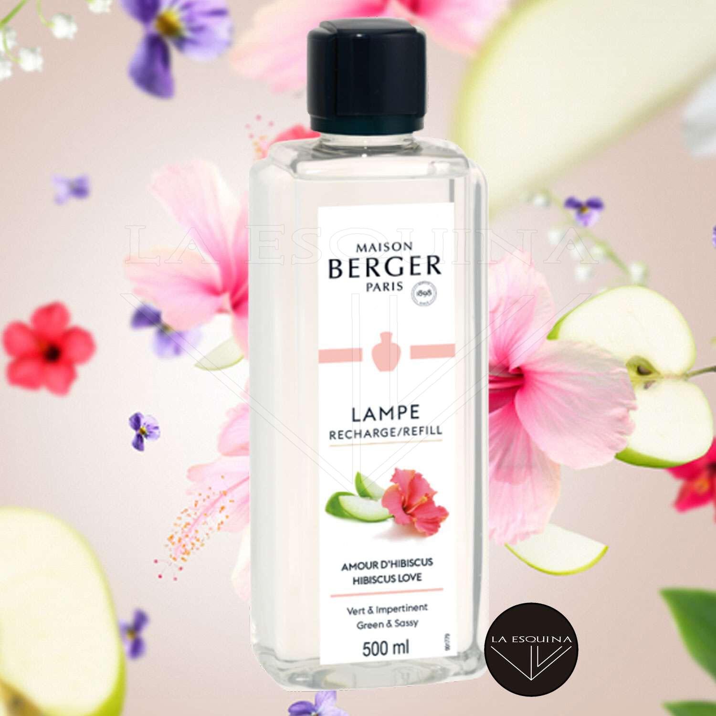 Parfum de Maison LAMPE BERGER Amour D'Hibiscus 500 ml