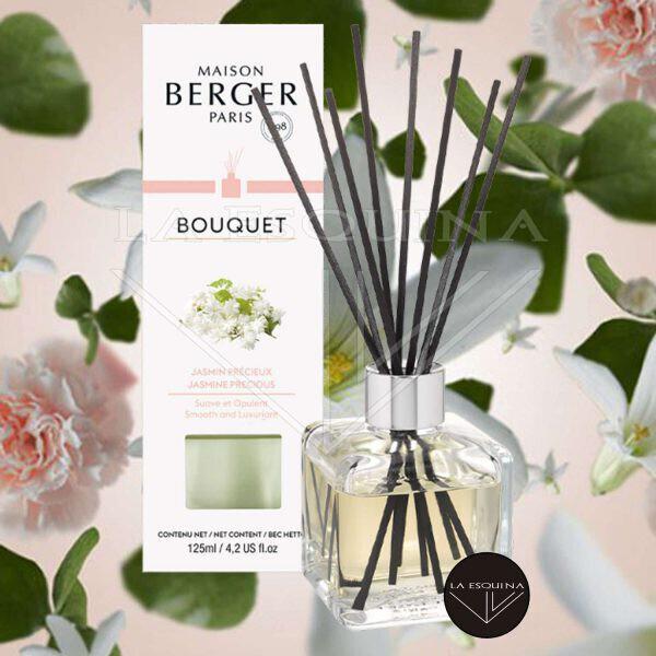 Bouquet Perfumado Cubo Jasmin Precieux 125ml,barillas aroma jazmin