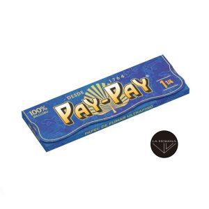 Papel de Liar PAY-PAY Ultrafino 1,1/4, 78mm,cada librito contiene 50 papelillos