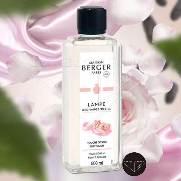 Recambio Maison Touche de Soie 500ml, aroma melon y rosas