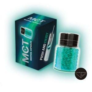 Capsulas para introducir en el filtro MTC sabor mentol