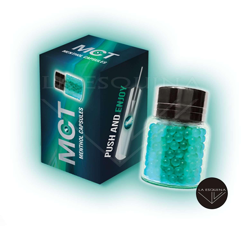Cápsula MCT de sabor mentol