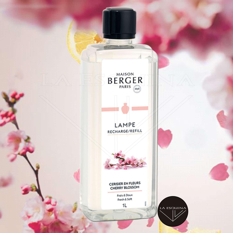 Parfum de Maison LAMPE BERGER Cerisier en Fleurs 1L