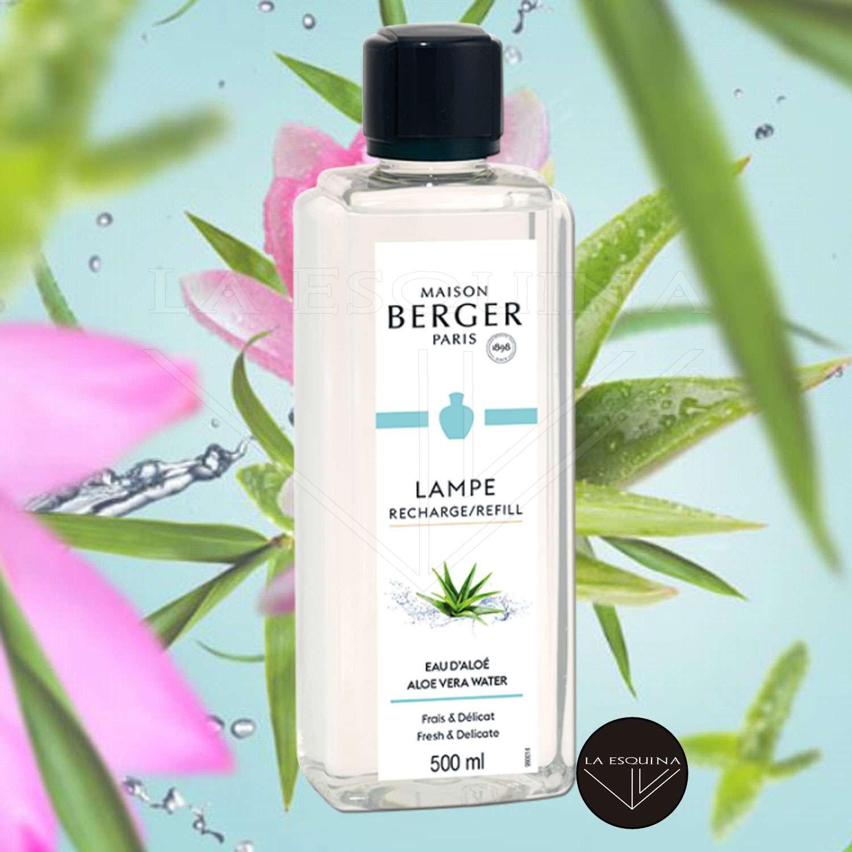 Parfum de Maison LAMPE BERGER Eau d'Aloé 500ml