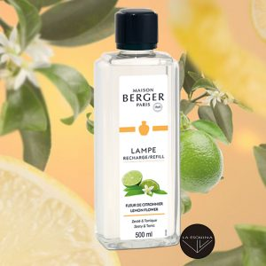 Parfum de Maison Fleur de Citronnier 500ml, aroma citronella y aromas florales