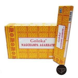 Incienso GOLOKA NAGCHAMPA 16 gr