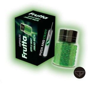 Capsulas para introducir en el filtro MTC sabor manzana menta