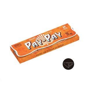 Papel De Liar PAY-PAY Orange 70mm