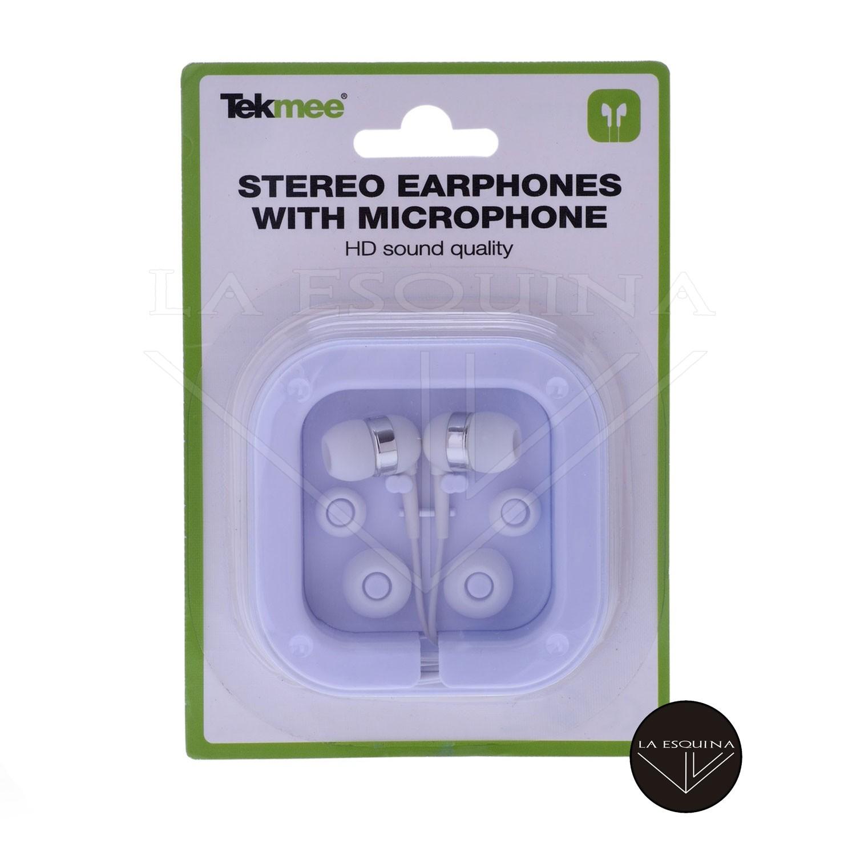 Auriculares TEKMEE Con Micro