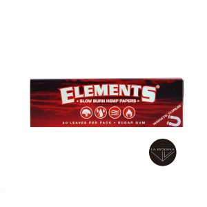Papel de Liar ELEMENTS Red 78mm 1 1/4